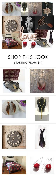 """""""The Key To My Heart"""" by anna-recycle ❤ liked on Polyvore featuring modern, rustic and vintage"""