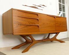 Retropassion21 Mid Century Danish Modern Retro Teak Rosewood Furniture #retrohomedecor