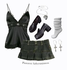 Swaggy Outfits, Girl Outfits, Fashion Outfits, Aesthetic Fashion, Aesthetic Clothes, Twilight Outfits, Moda Casual, 2000s Fashion, Alternative Outfits