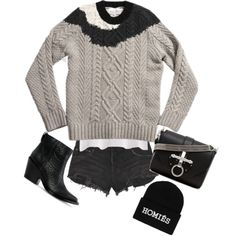 Outfit by serratas, homiés, givenchy