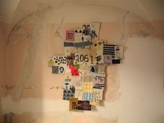 Massimo Nota [something like this might be fun to do using the house numbers, PO Box numbers, or phone numbers from all of the places we have lived with strips cut from photos of the houses]