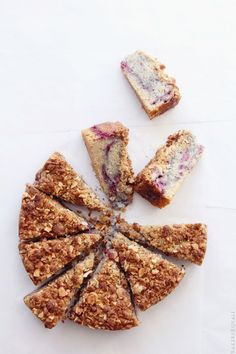 Blackberry & Almond Coffee Cake