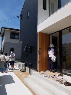 オープンハウス -SHIBA BOX- – 名古屋市の住宅設計事務所 フィールド平野一級建築士事務所 Exterior Wall Design, Random House, Houses, Outdoor Decor, Homes, House, Computer Case, Home