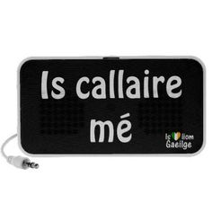 I'm a Speaker Gaeilge Irish language