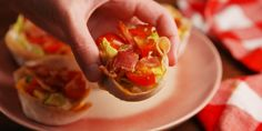 The classic sandwich becomes an even easier-to-eat finger food.
