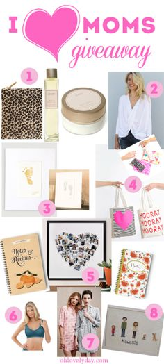 Mother's Day goodies #giveaway   Oh Lovely Day #ohlovelydaylovesmoms