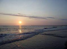 Golden Beach. Tainan, Taiwan