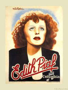 EDITH PIAF 1930's french singer