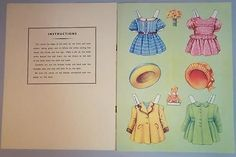 Uncut-Paper-Doll-Book-Dolls-to-Dress-Peter-Pamela-Mary-Michael-B-B-Ltd
