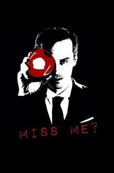 We Love Moriarty — I O U - love this art!