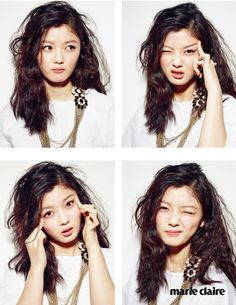 2015.04, Marie Claire, Kim Yoo Jung