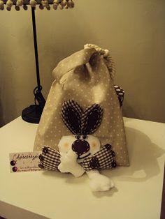 doscerezas: Bolsa de merienda con animalitos animados.