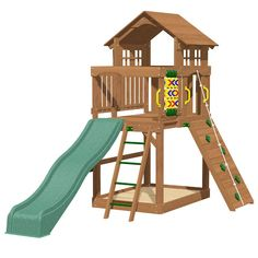 PLAYTIME EAGLE POINT TOWER ONLY - ONLY £649 - Outdoor Play Equipment