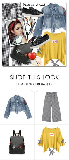 """Go Back-to-School Shopping!"" by duma-duma ❤ liked on Polyvore featuring BackToSchool"