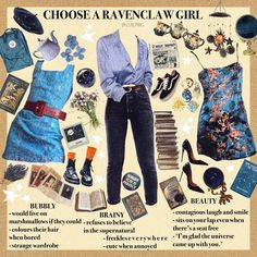 Ravenclaw, Grunge Goth, Aesthetic Fashion, Aesthetic Clothes, Visual Kei, Cool Outfits, Fashion Outfits, Hipster School Outfits, Beauty Youtubers