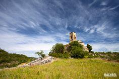 Montañana en Aragón y su Iglesia de la Virgen de Baldós