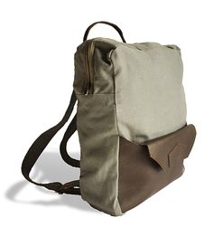 Bobby Convertible Canvas Backpack & Tote Bag