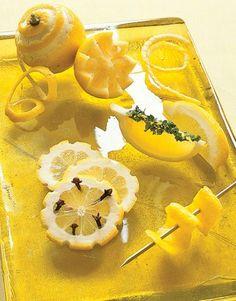 Lemon Garnishes #Mikyajy @Mikyajy MakeUp makeup