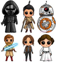 Drawsocute star wars kawaii drawings, cute drawings e star wars drawing Kawaii Girl Drawings, Cute Girl Drawing, Disney Drawings, Cartoon Drawings, Cute Drawings, Kawaii Disney, Cartoon Cartoon, Star Wars Cartoon, Star Wars Comics