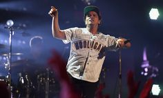 Bruno Mars Photos Photos - Bruno Mars onstage at 2017 BET Awards at Microsoft Theater on June 25, 2017 in Los Angeles, California. - 2017 BET Awards - Roaming Show