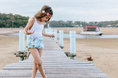 Butterfly bodysuit and Annabelle shorts - ju ju Creations
