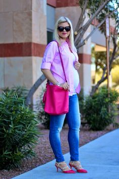 Living in Color Style: Valentine's Day Style Week: Pink & More Pink