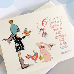 Christmas Card Set Holiday Cards Set of 10 cards by PikakePress