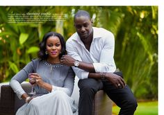 "Chris Attoh on being married to Nollywood Actress Damilola Adegbite – ""I need the fire"""