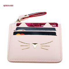 d011cce36 comprar Qimanshi mujeres Monederos cartera titulares de tarjetas de crédito  mini para la hembra encantadora del
