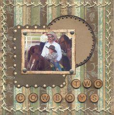 Two Cowboys - Scrapbook.com