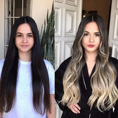 100 dark hair with heavy platinum highlights perfect when youre going grey page - Hair Colors Blonde Ideen Brown Hair Balayage, Brown Blonde Hair, Hair Color Balayage, Brunette Hair, Hair Highlights, Dark Hair, Platinum Highlights, Dark To Light Hair, Brunette Ombre