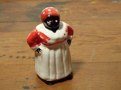 Vintage Mammy Bell Figurine - Ceramic Aunt Jemima Bell Figurine by BubbiesMemories on Etsy