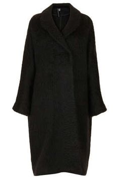 Mohair Oversize Coat by Boutique - Coats  - Clothing