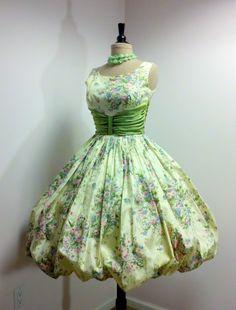 1950s Bubble Dress - Betty would be so jealous.