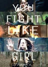 Las chicas también saben luchar