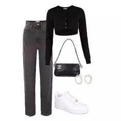 cute date outfits Korean Girl Fashion, Look Fashion, Winter Fashion, Fashion Tips, Kpop Fashion Outfits, Edgy Outfits, Cute Comfy Outfits, Polyvore Outfits, Types Of Fashion Styles