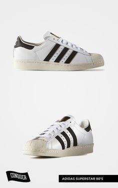 5148574b4 Adidas Superstar 80S White Core Black Chalk White G61070 AED 475 Visit  www