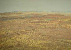 Jentsch, Adolph Stephan Friedrich, Kalahari, 1942, olie op doek, 690 x 990 mm