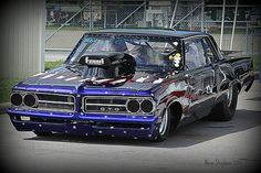 1964 GTO at Summit Raceway Park in Norwalk, Ohio at the 2013 Ames Tri-Power Pontiac Nationals.