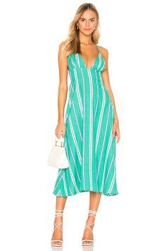 4ff7aeae5a5 Shop for Cleobella Alicia Dress in Emerald at REVOLVE.