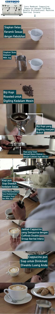 Cara Membuat Cappucino Sempurna dengan Coffindo Double Professional Machine Iberital Intenz | coffindo.id