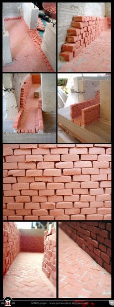 Domus project 7: Brick walls (part I) by Wernerio.deviantart.com on @deviantART
