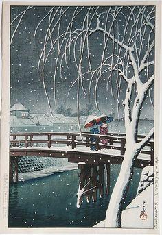Kawase_Hasui-No_Series-Evening_Snow_at_Edogawa-00028234-090102-F12.jpg