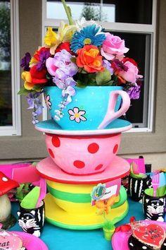 giant tea cups
