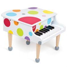 Piano de cola de la colección confetti ideal para pequeños músicos que se preparan para ofrecer un gran recital.