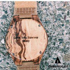 Wooden Watch // Olive Ash Plain