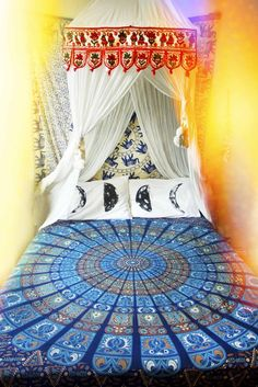 A Shaman's Journey Bed Throw.