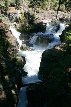 Oregon Waterfalls - Upper Chasm Falls
