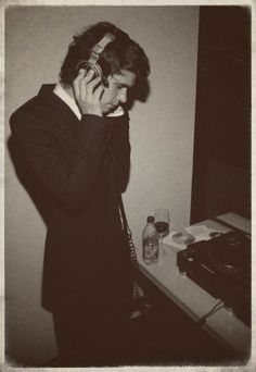 Is Ben Whishaw DJing? I hope so.