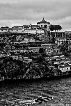 Turismo en Portugal: Fotos de Oporto en Blanco y Negro
